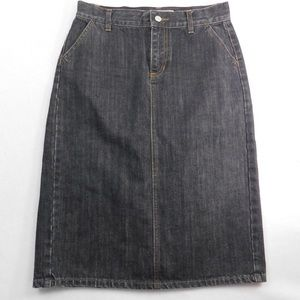 Gap denim skirt EUC size 4